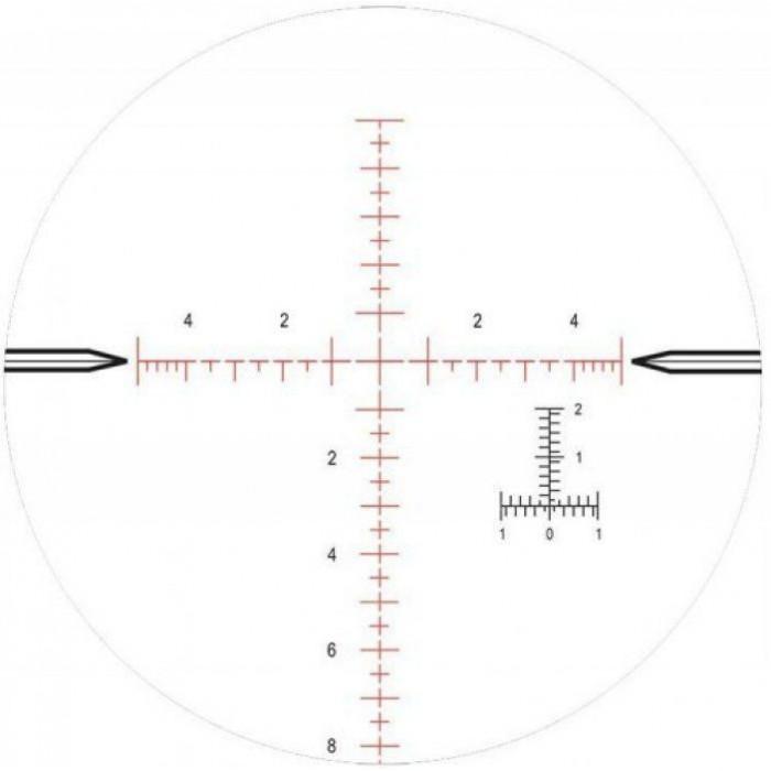 Оптический прицел Nightforce ATACR 4-16x42 F1 ZeroH 0.1Mil сетка Mil-R с подсветкой