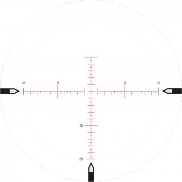 Оптический прицел Nightforce SHV 4-14x56 F2 0.250 MOA сетка MOAR с подсветкой