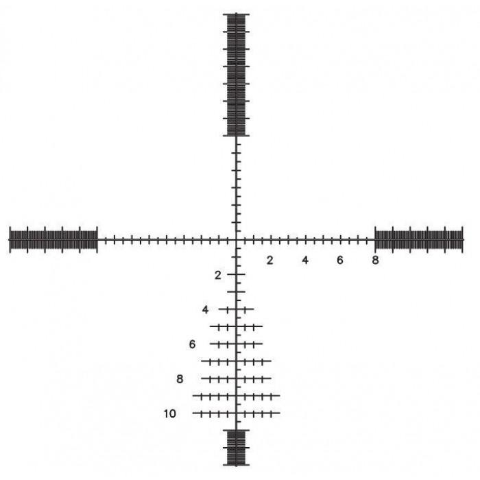 Оптический прицел Bushnell Elite Tactical M 6-24х50 #ET6245FG, сетка G2DMR
