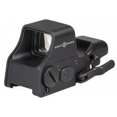 Коллиматорный прицел Sightmark Ultra Shot Plus быстросъемный 4 типа MOA (SM26008)