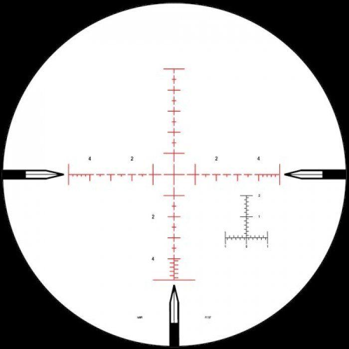 Оптический прицел Nightforce ATACR 5-25x56 F2 ZeroS 0.1Mil сетка Mil-R с подсветкой