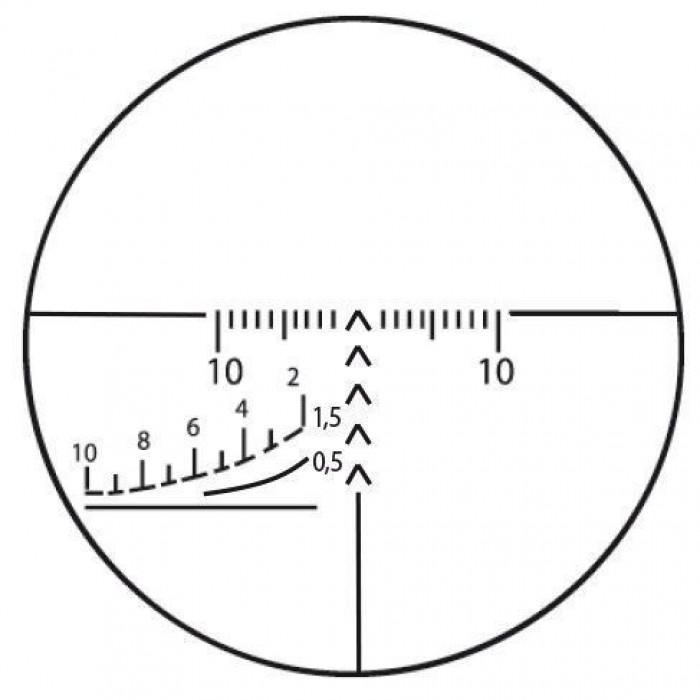 Оптический прицел ПОСП 4-8х42 Д (Тигр 1,5/1000)