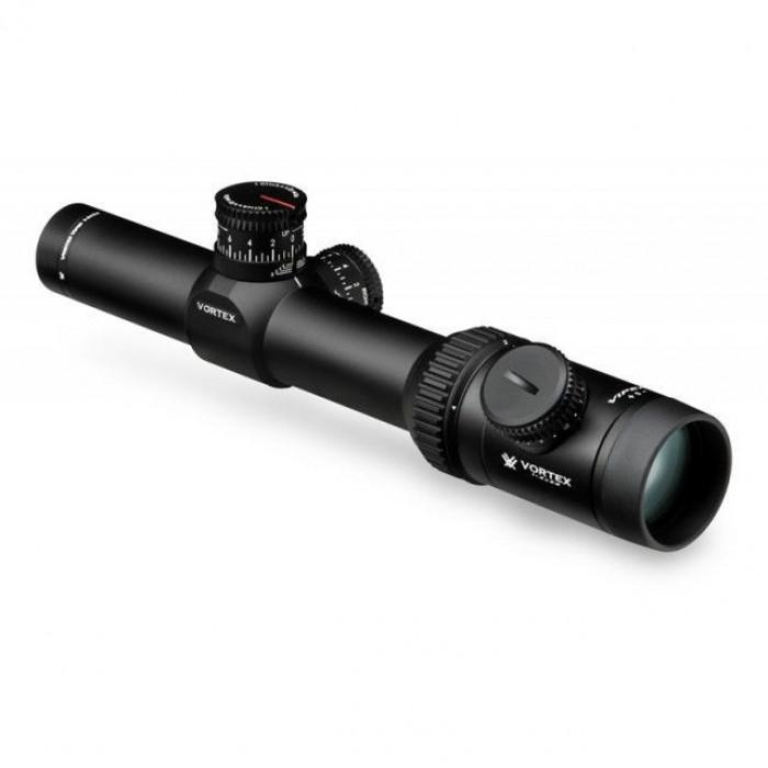 Оптический прицел Vortex Viper PST 1–4x24 марка TMCQ с подсветкой